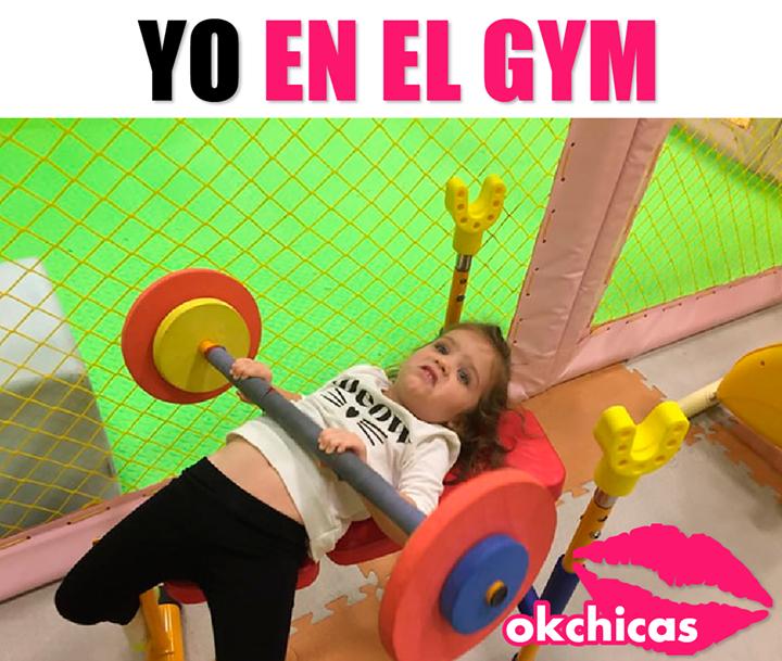 mi primer dia en el gym imagenes