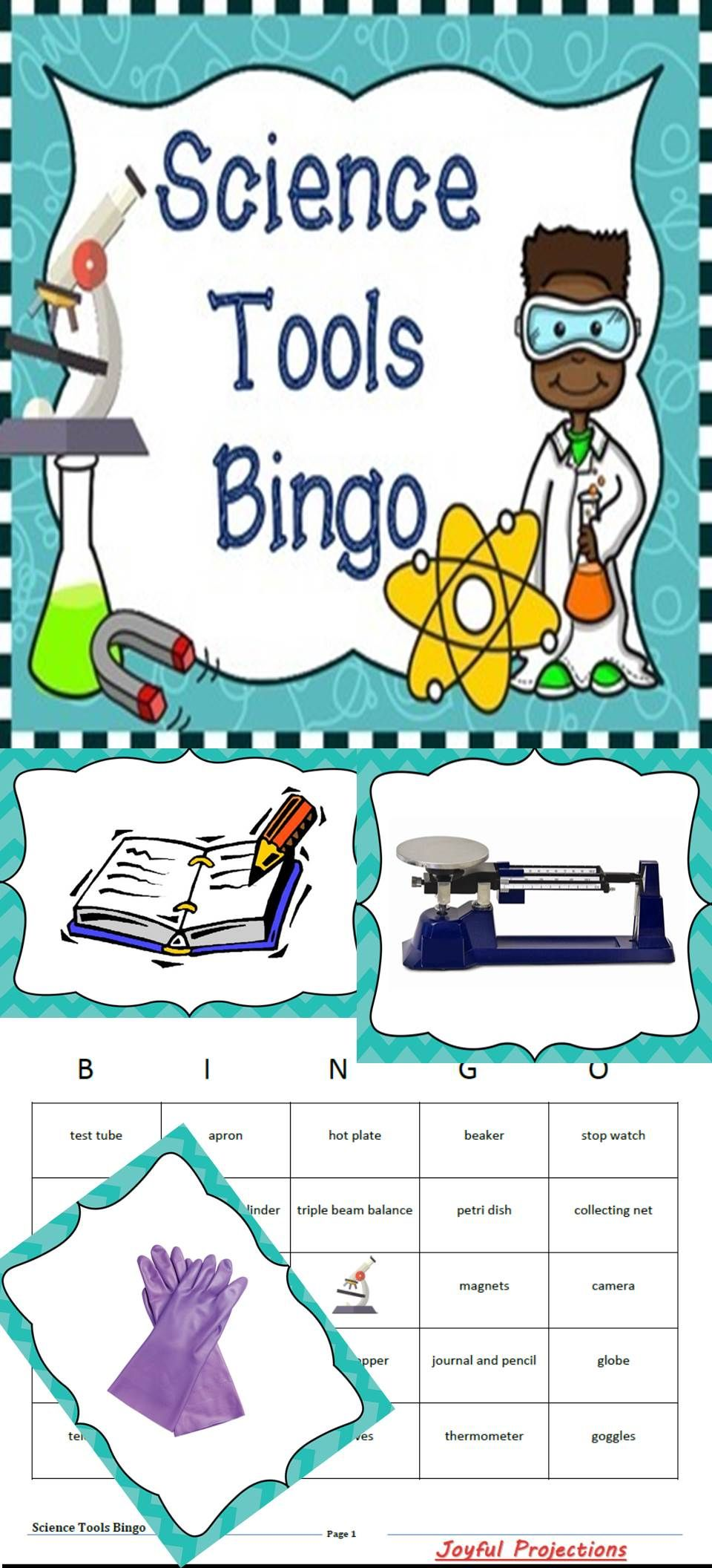 Science Tools Bingo Whole Group Review Activity W Bingo Cards Science Tools Science Classroom Science [ 2112 x 960 Pixel ]