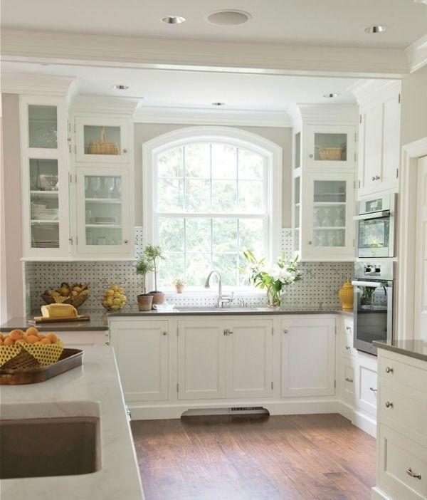 Kitchen Backsplash Window kitchen backsplash tile: how high to go | window, kitchens and