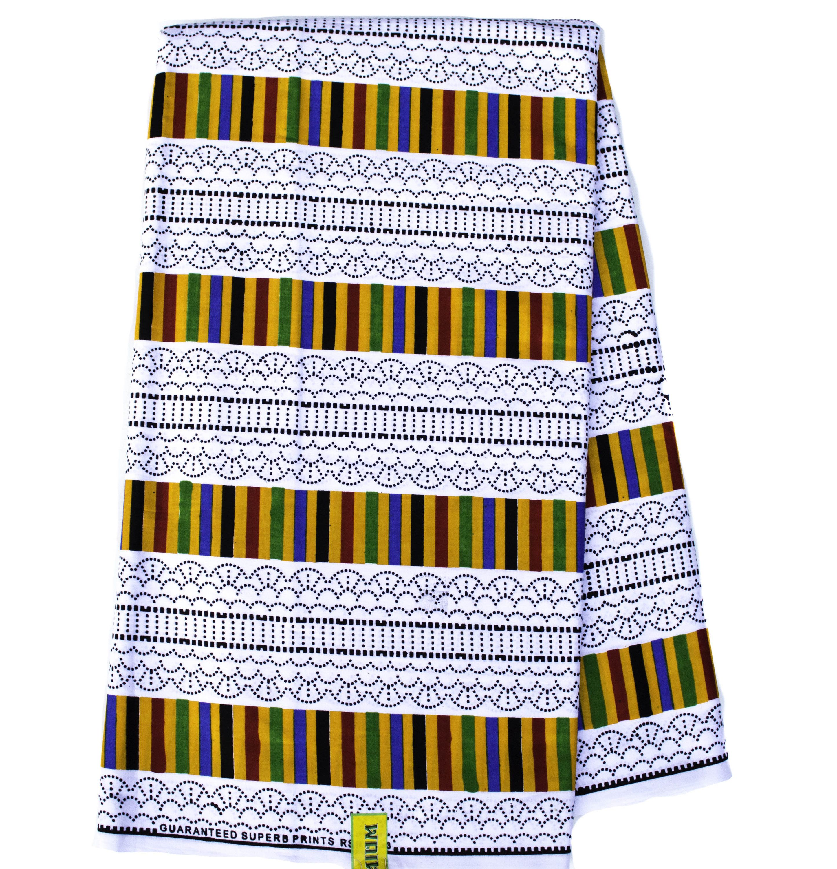 Ghana Kente Fabric, 6 yards/ Fabric from Ghana/ Ankara fabric/ Kente