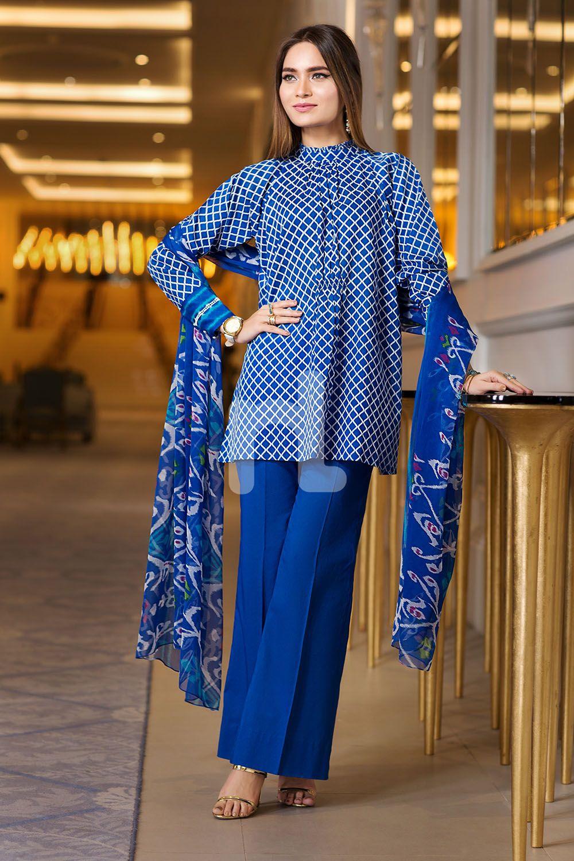 Elegant Three-Piece Dress
