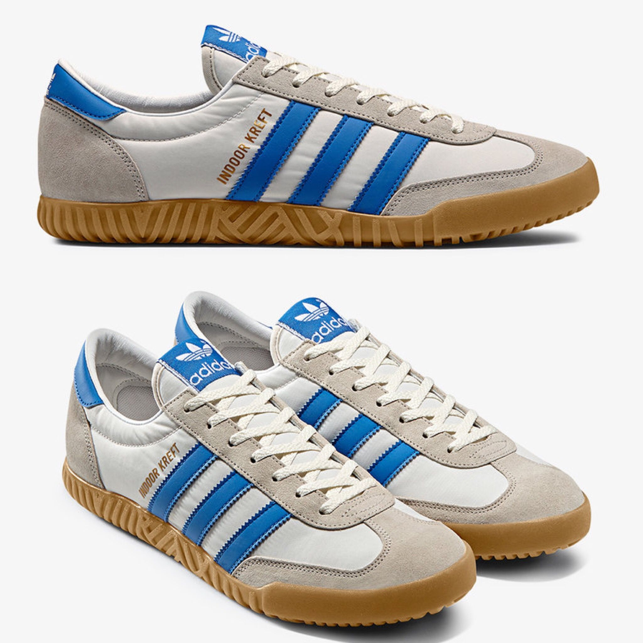 Inflar Hospitalidad puñetazo  Adidas Indoor Kreft | Adidas shoes originals, Adidas fashion, Vintage adidas