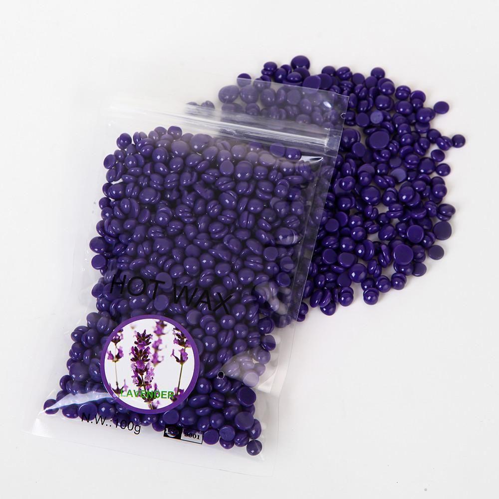 Diy 100 natural brazilian hair removal wax beans