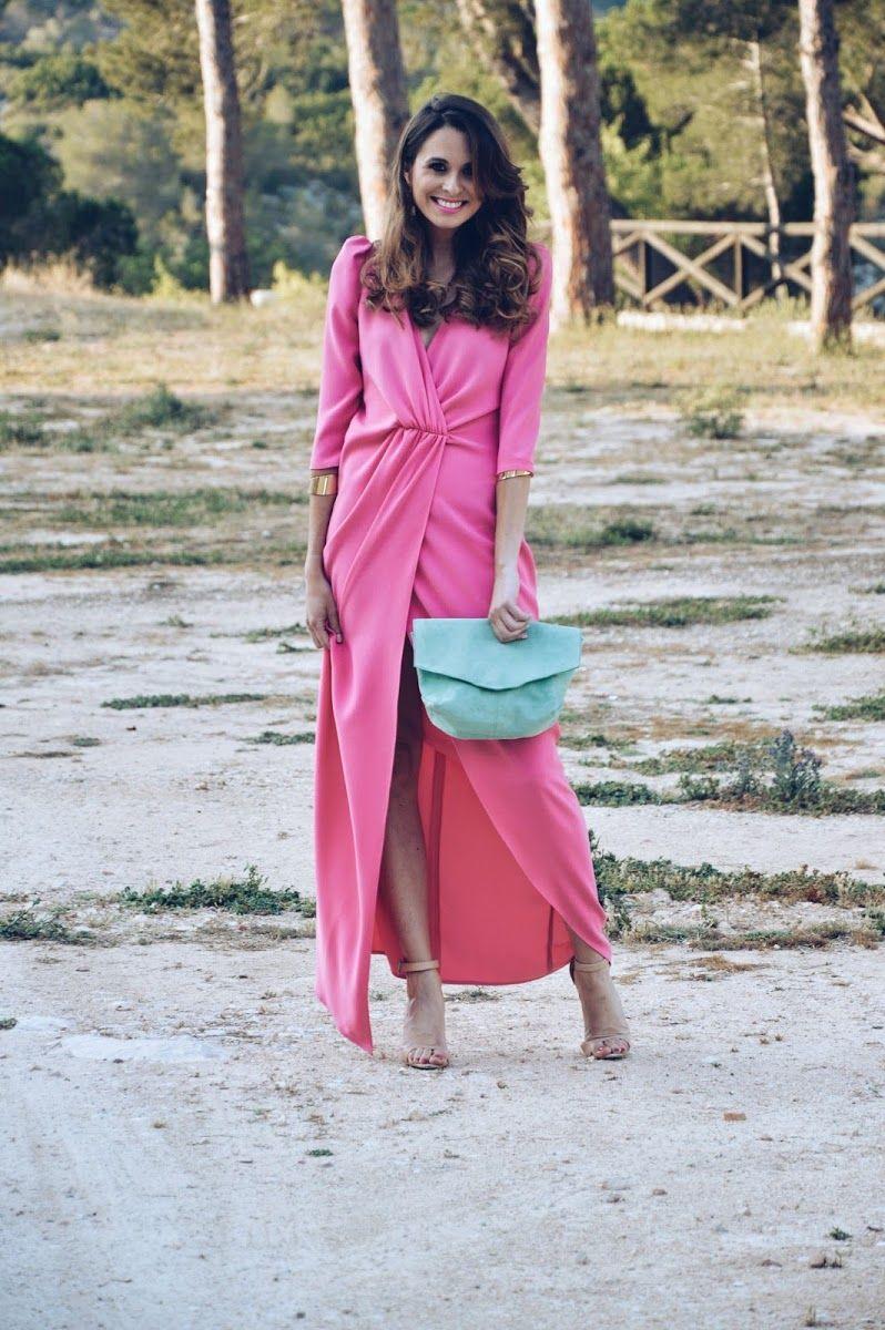 vestido #fiesta #rosa #invitada #invitadaperfecta #perfecta #coosy ...