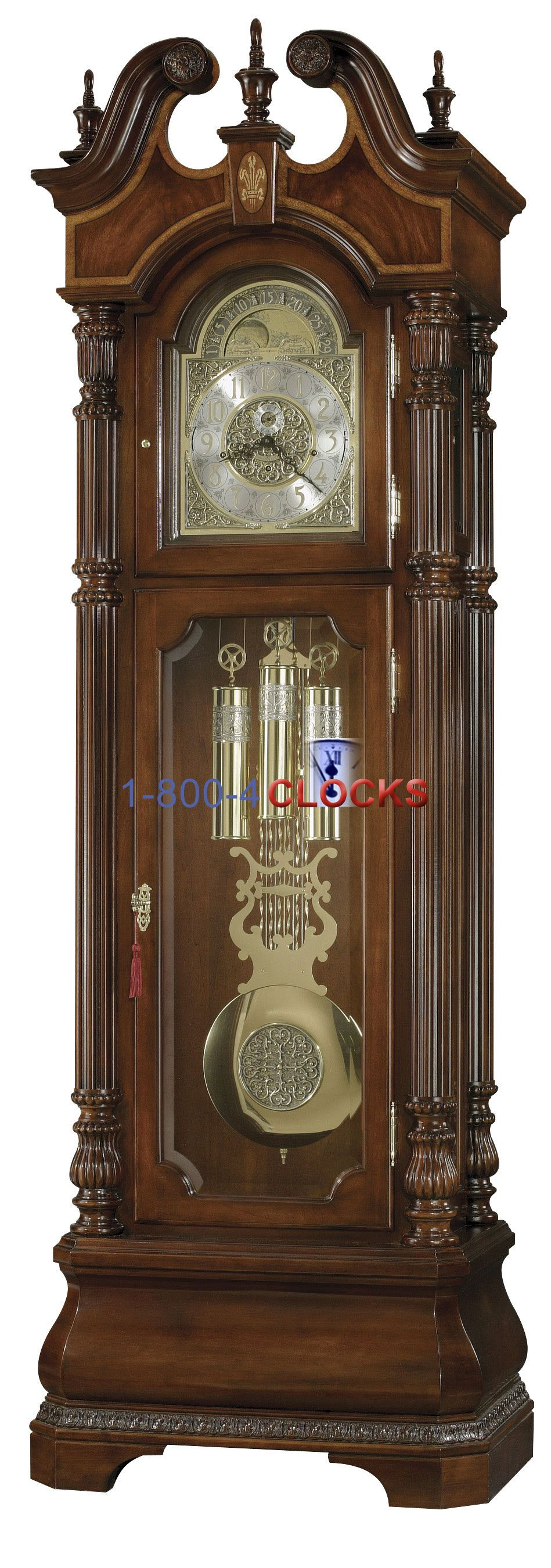 how to move a grandfather clock howard miller