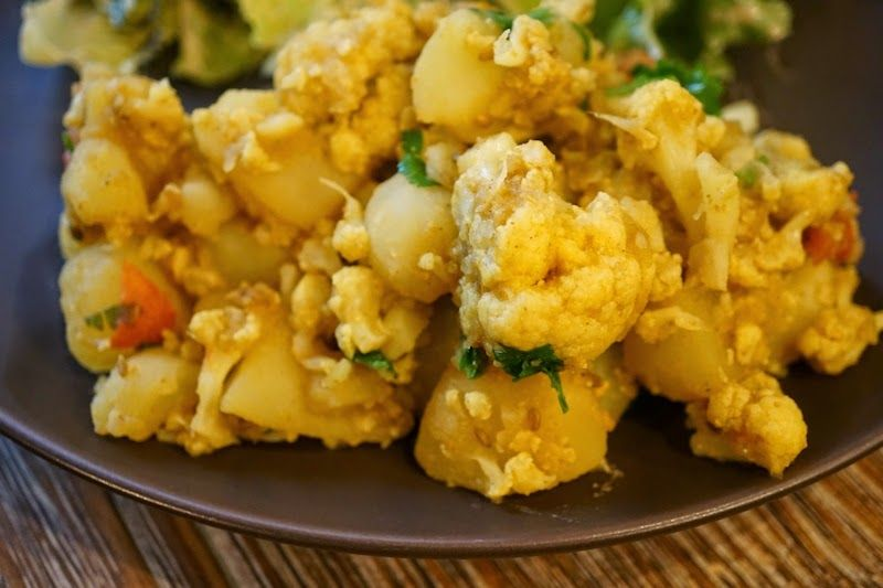 Who says you cant make indian food without oil aloo gobi who says you cant make indian food without oil forumfinder Images