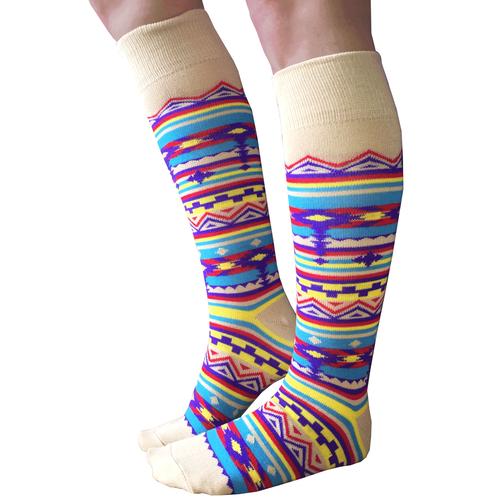 Southwestern Socks Clothing And Such Pinterest Gold Socks