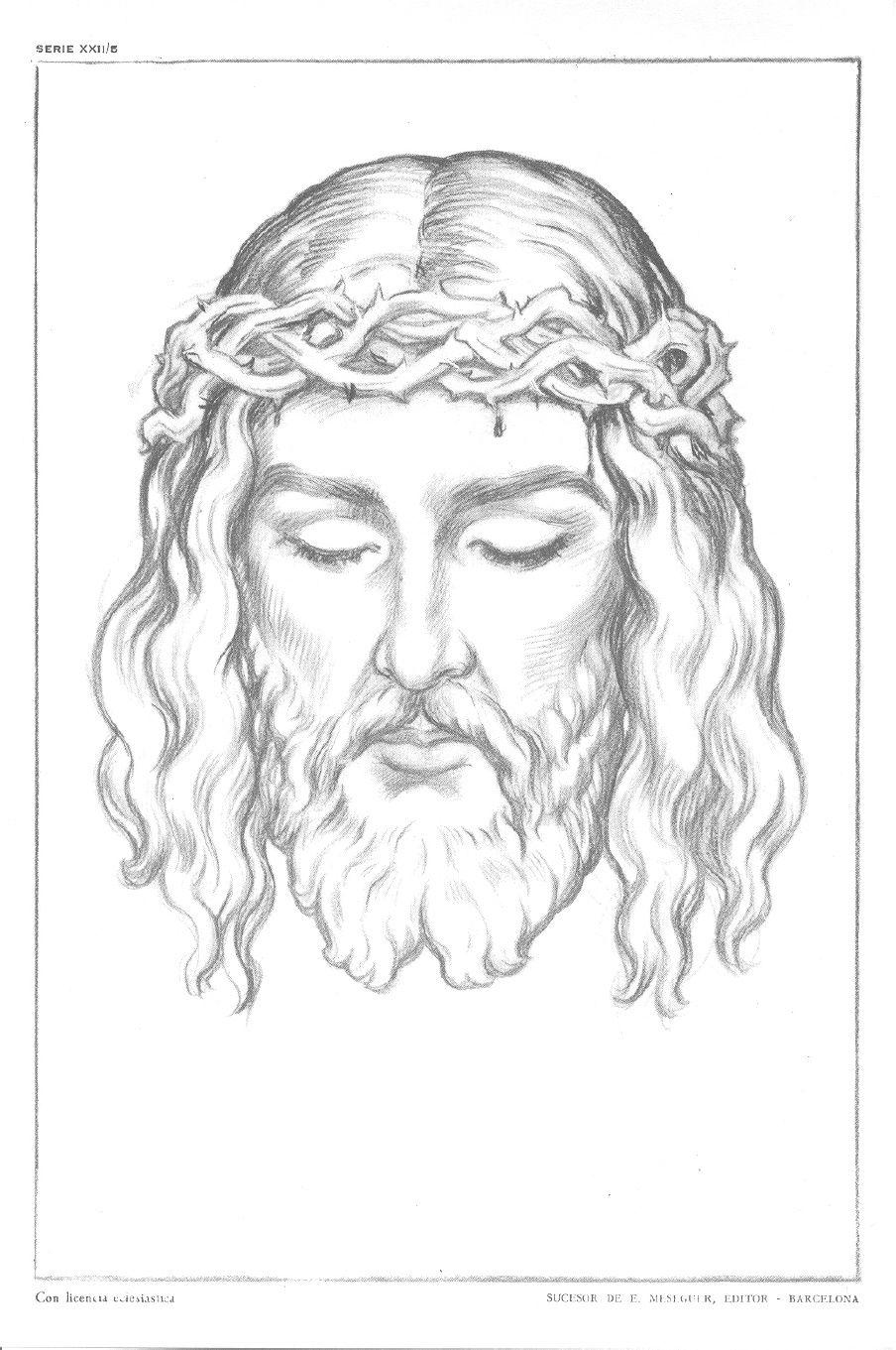Laminas Emilio Freixas Serie 22 Figuras Religiosas I Dibujos De Jesus Figuras Religiosas Arte De Jesus
