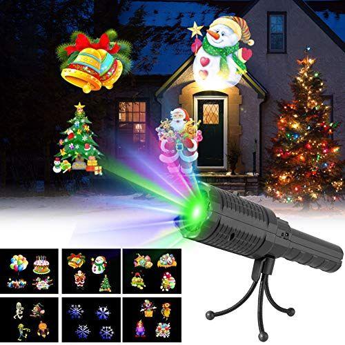 Review Bateer LED Christmas Lights Projector Handheld Indoor Kids