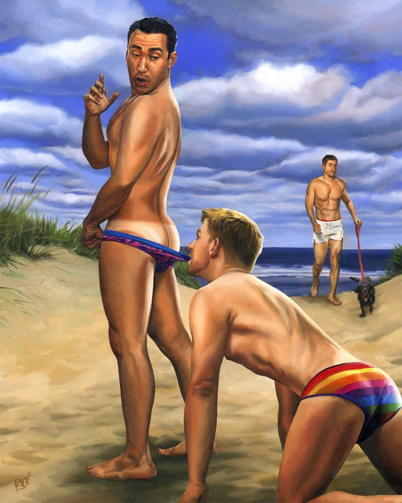 Gay pin up art