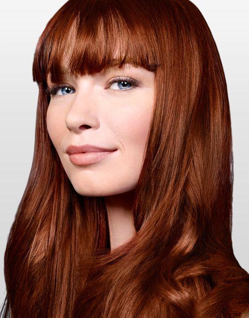 auburn hair - Reddish Brown Hair Colors