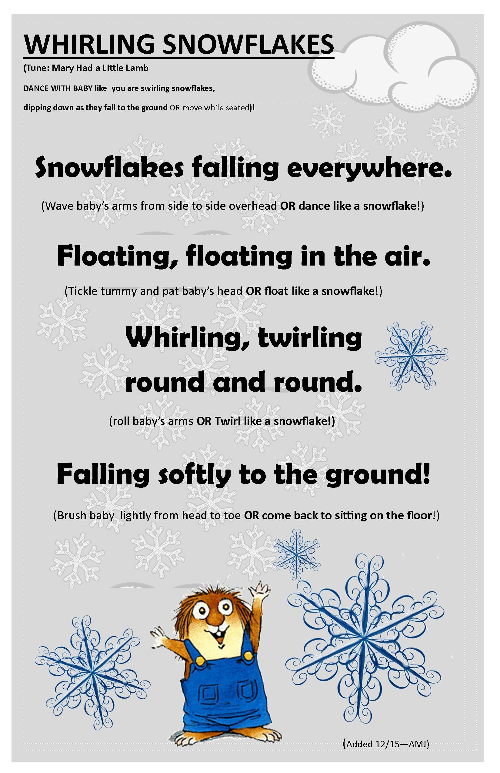 This Original Winter Baby Time Rhyme Is Perfect For