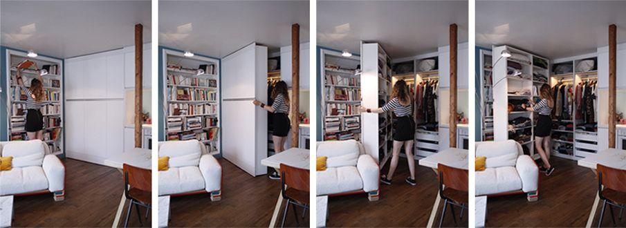 Poup e architecte paris 18 me bardin architecte - Architecte interieur paris petite surface ...