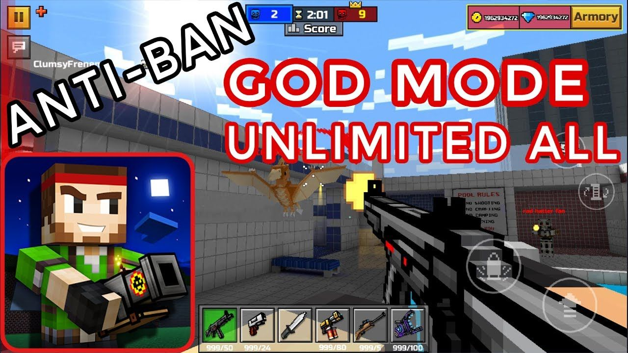 pixel gun 3d mod apk unlimited coins and gems