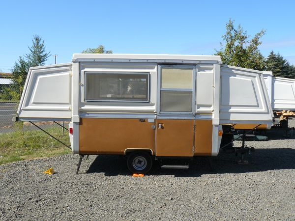 73' Apache Mesa Vintage pop up Tent travel Trailer all ... on