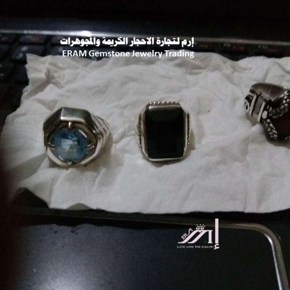 Pin By إرم لتجارة الاحجار الكريمة وال On متجر الخواتم الرجالي In 2021 Gemstone Jewelry Gemstones Jewelry