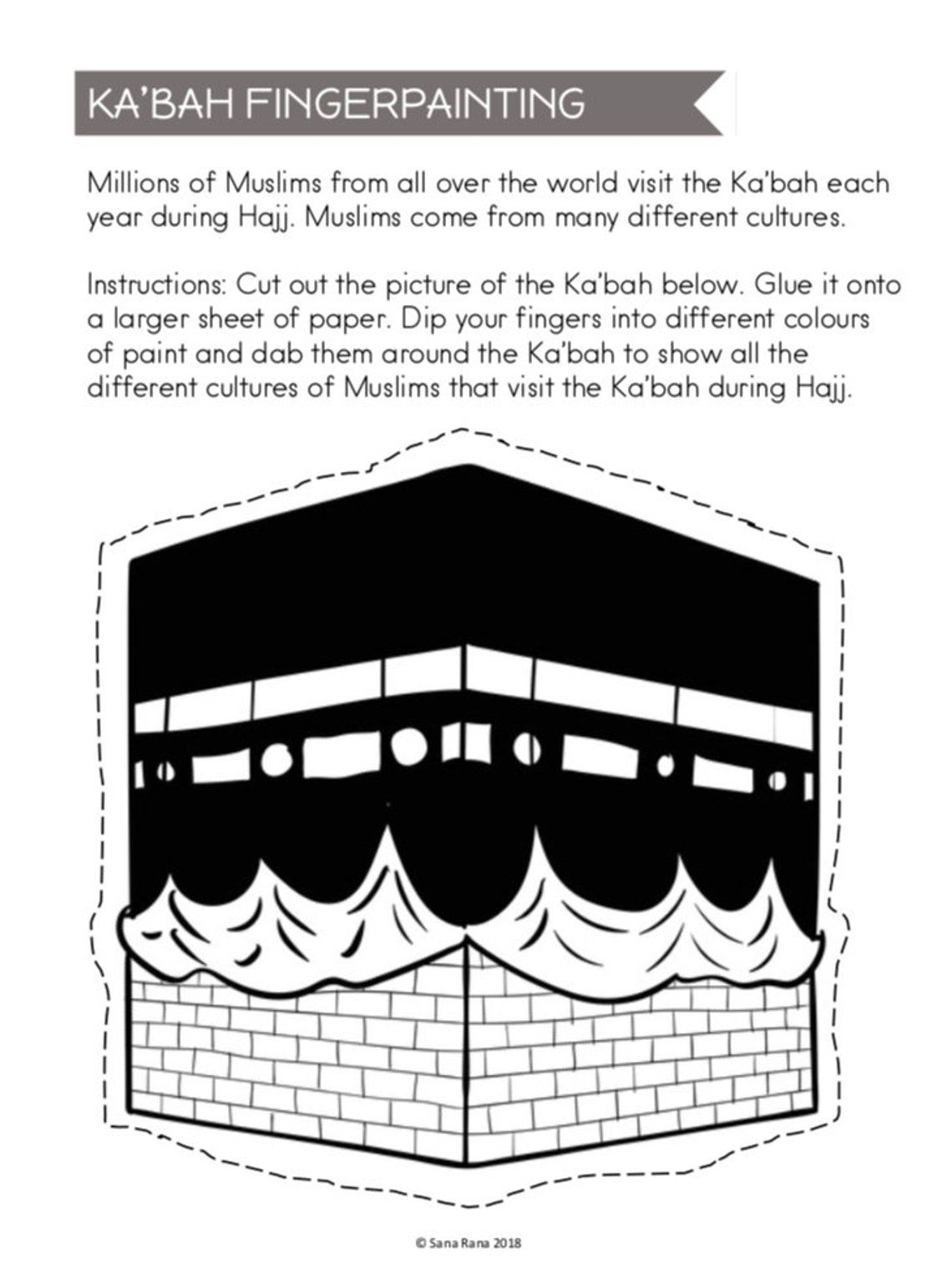 Eid Al Adha Activity Printable Download With Images