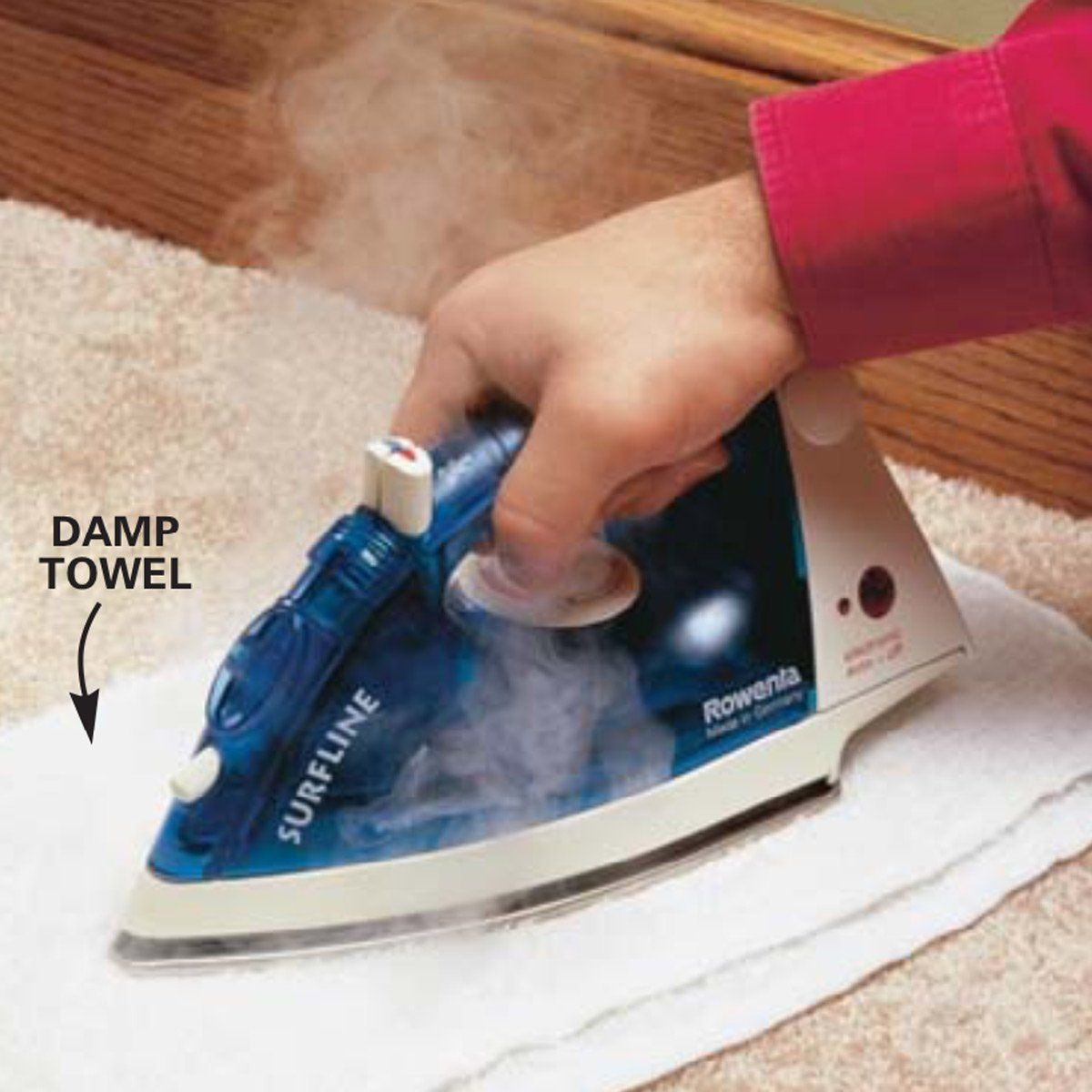 How to remove wax from a carpet in 3 steps family