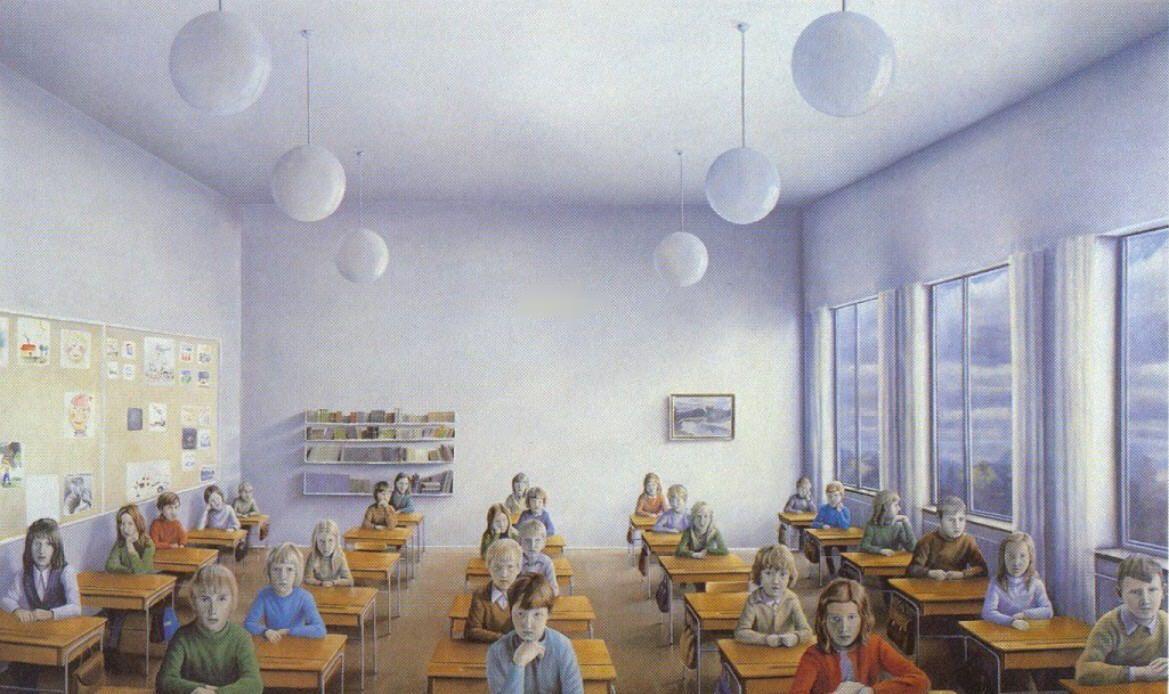 40 år sedan Peter Tillberg, målad för 40 år sedan, och igenkänningsfaktorn är  40 år sedan