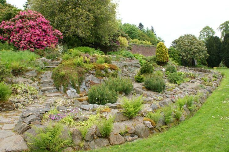 Rocaille de jardin: idées aménagement et décoration | Rocaille ...