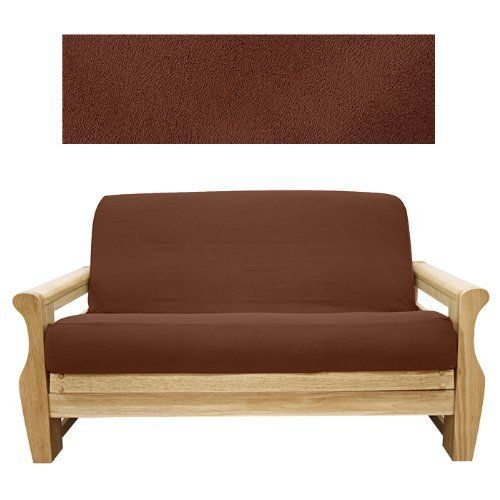 Suede Hazelnut Futon Cover Full 613 By Slipcovershop 79 00 In Stock Ships Within 2 Days See Sizing And P Full Size Futon Mattress Futon Mattress