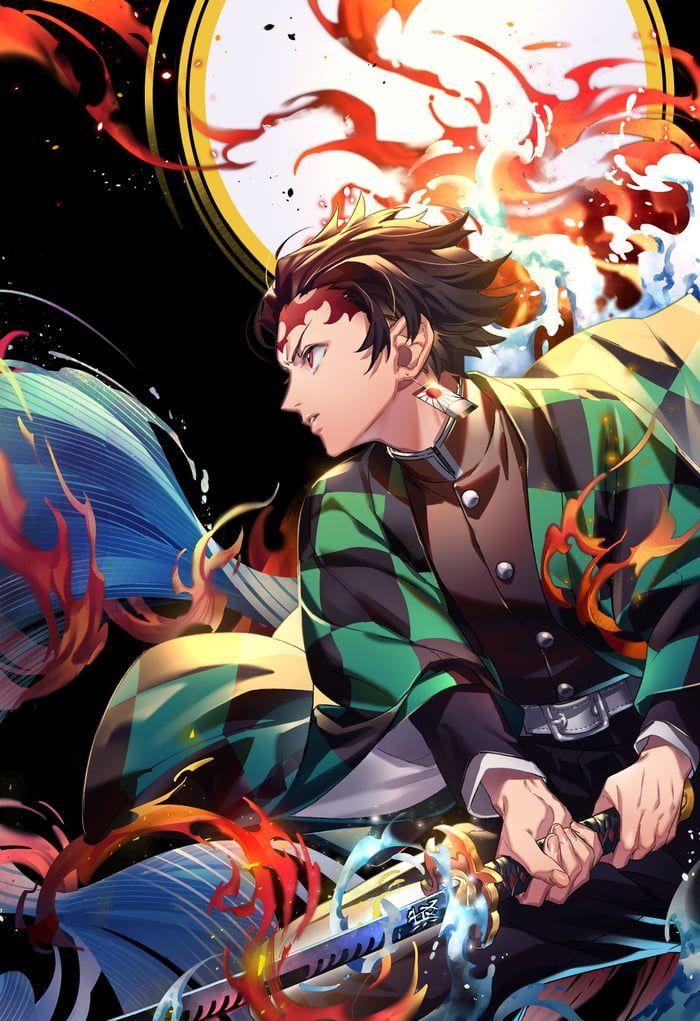 Kamado Tanjiro wallpaper (With images) Anime demon