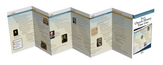 FREE Church History Timeline eChart + NEW Church History Timeline - free pamphlet