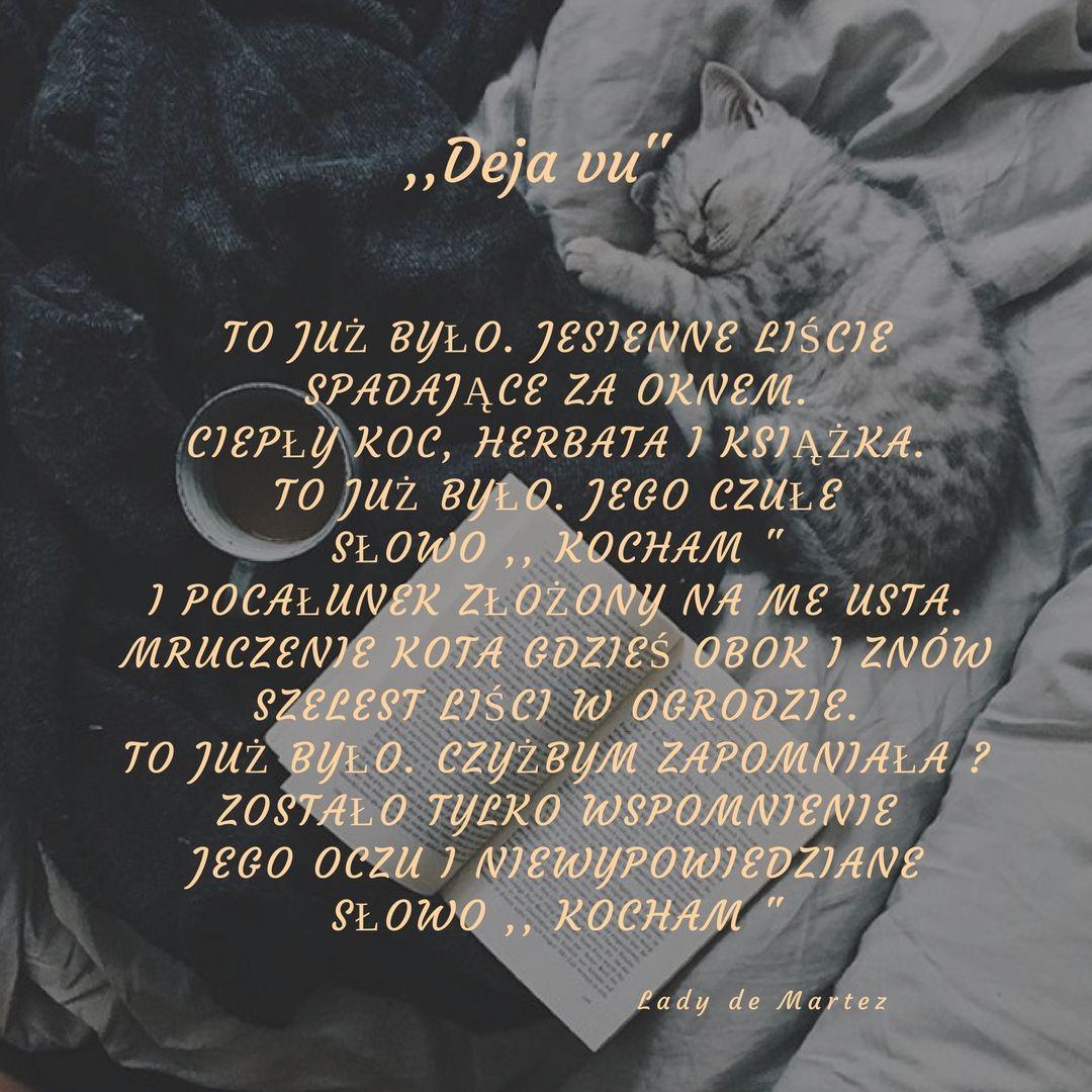 Deja Vu Cytaty Pocalunek I Usta