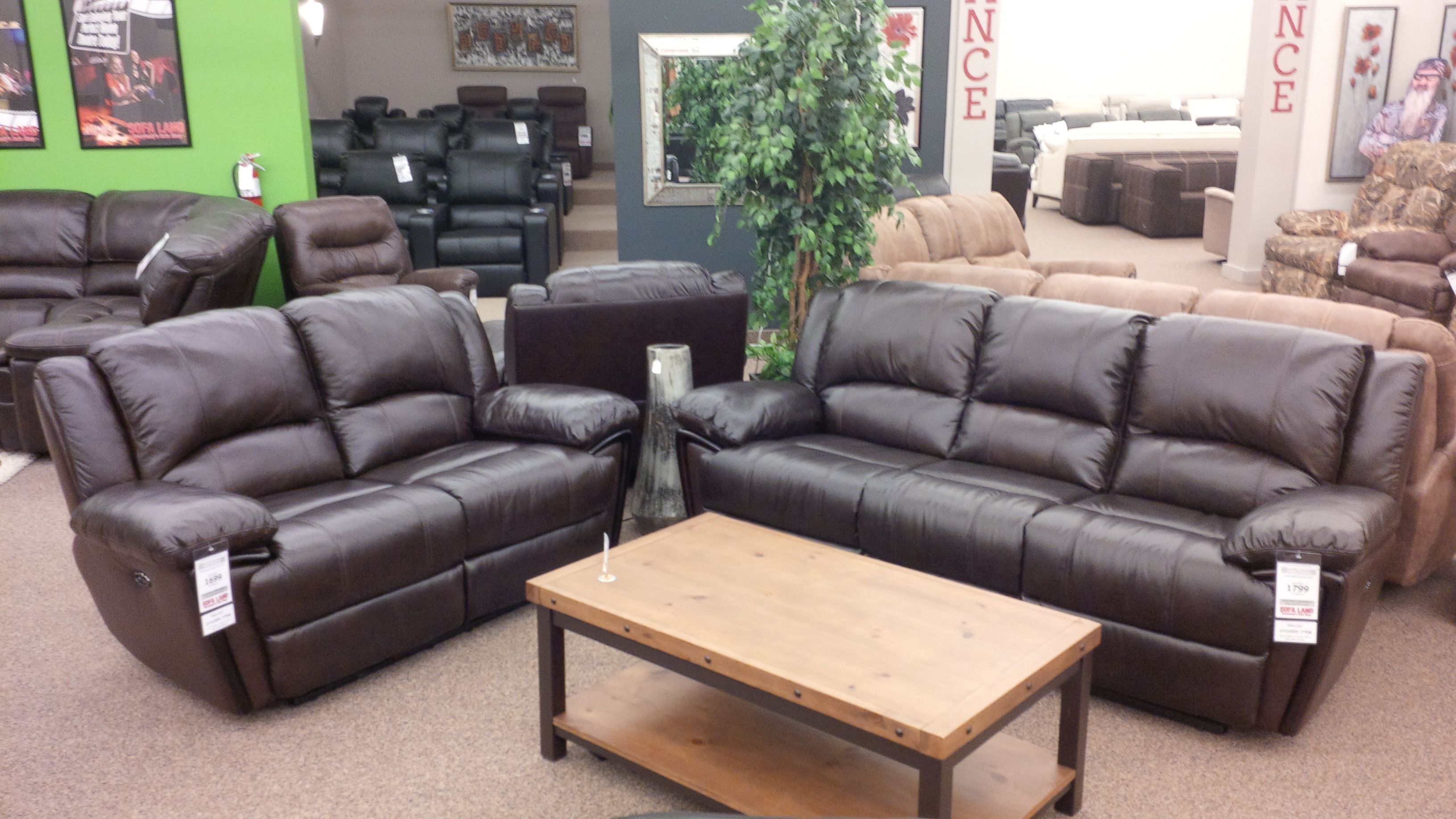 Check out our Adonis Power Reclining Sofa & Loveseat Power is