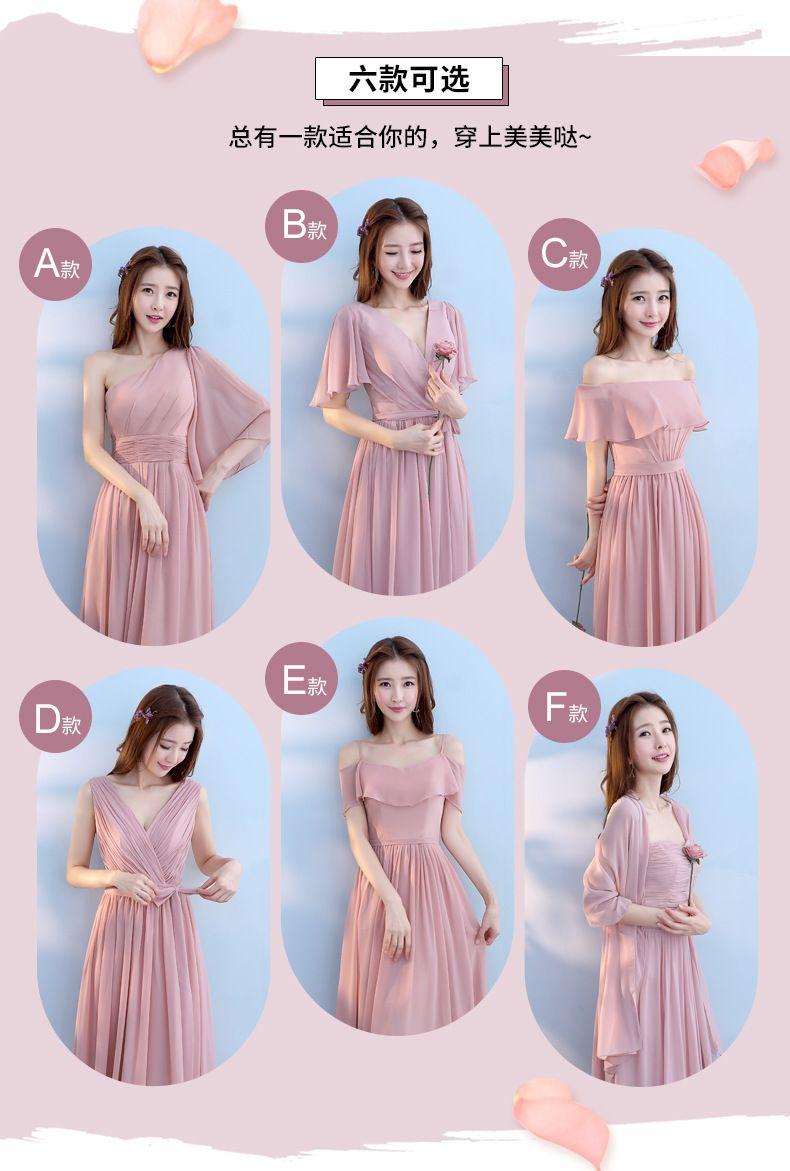 517b03b29a42 Bridesmaid dress Elegant Korean style gown long thin host party evening  dress girl - Shop @ ezbuy Singapore