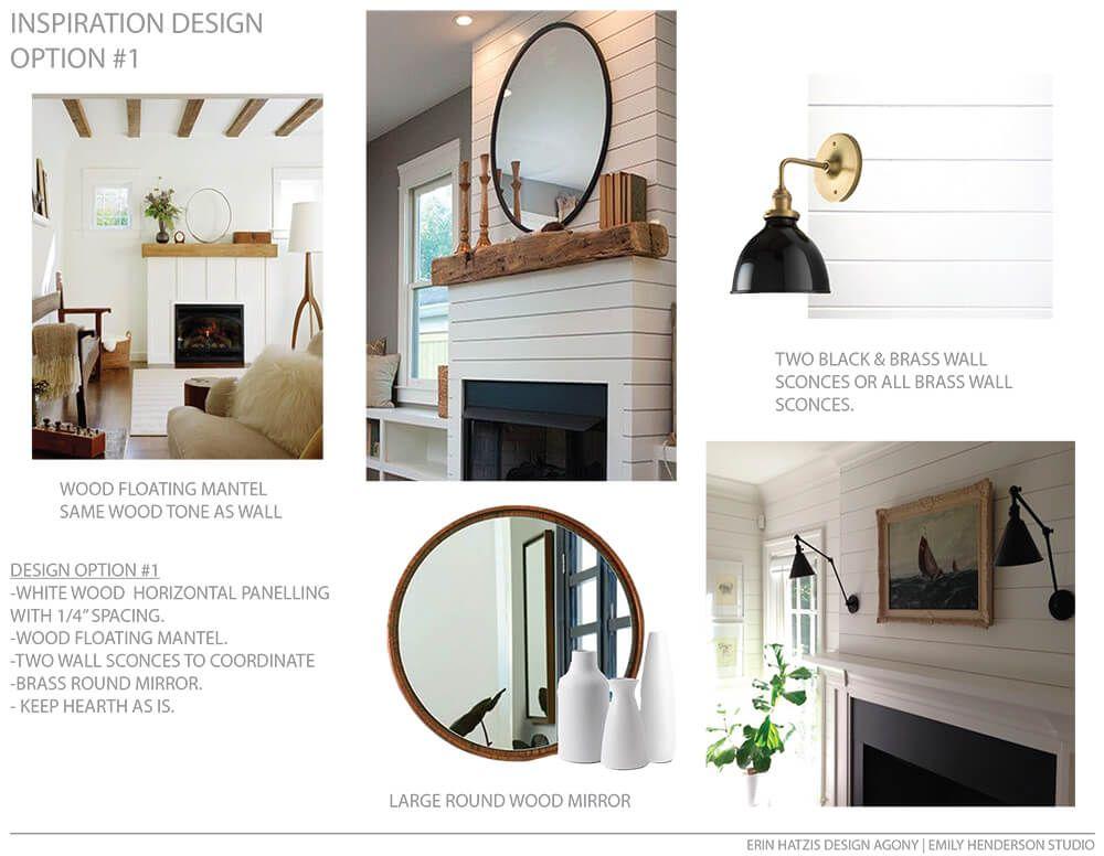 A Modern Farmhouse Fireplace Update Pinterest