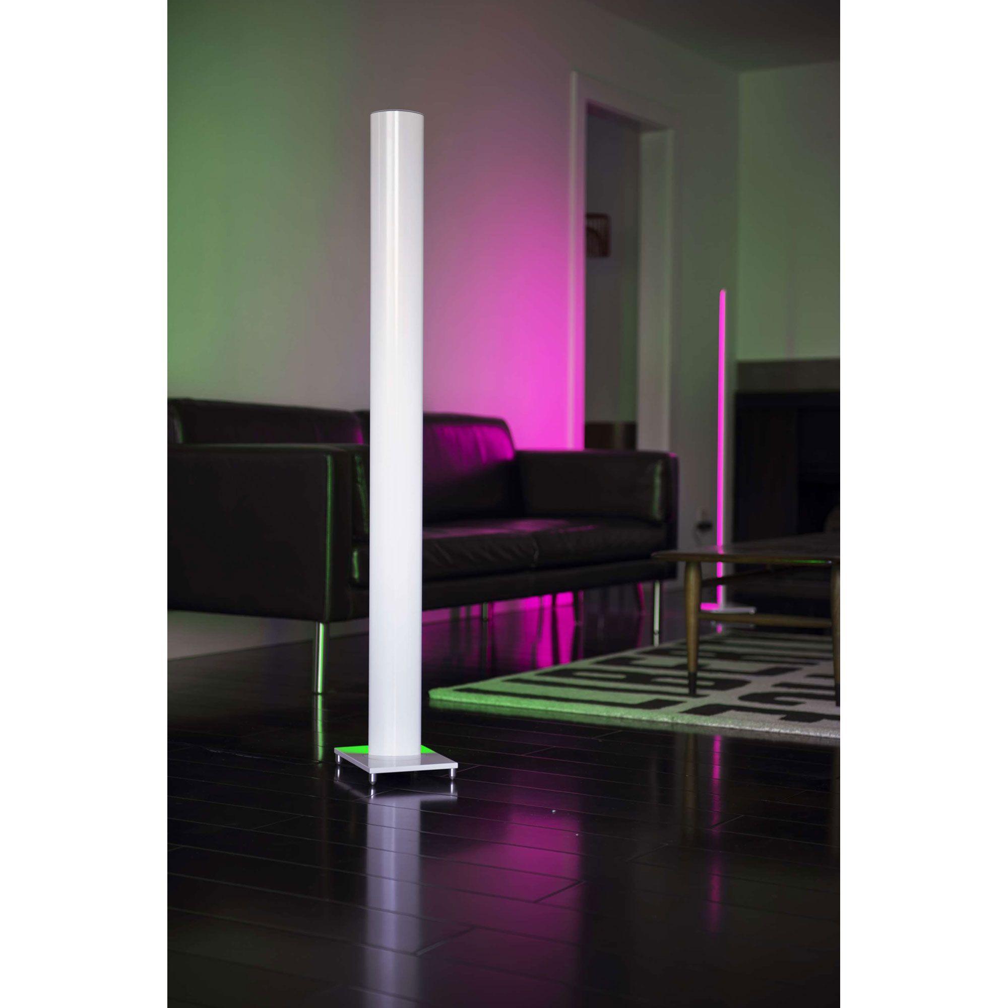 Tono Floor Mood Light By Koncept Lighting Mc1 Wht Flr In 2020 Led Floor Lamp Mood Light Led Color