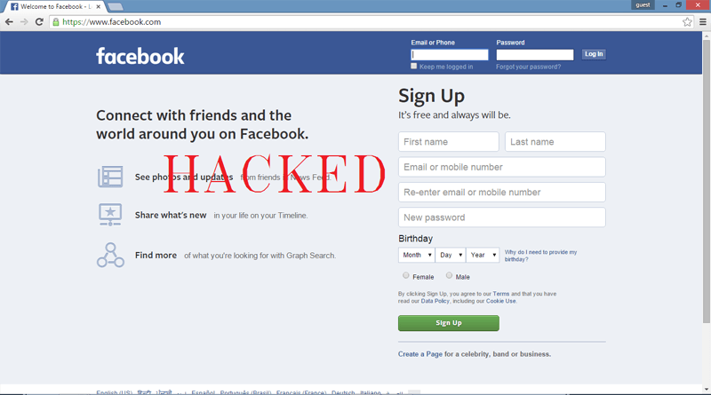 TOP 10 HACKING FACEBOOK ACCOUNT TOOLS - FORMER INFORMATION