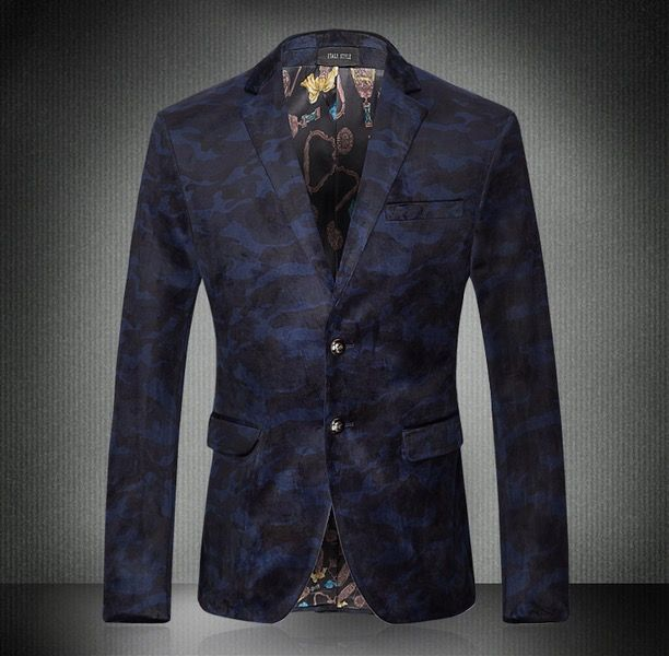 2016 New Fashion Butterfly Designer Stylish Blazers For Men Blazer ...