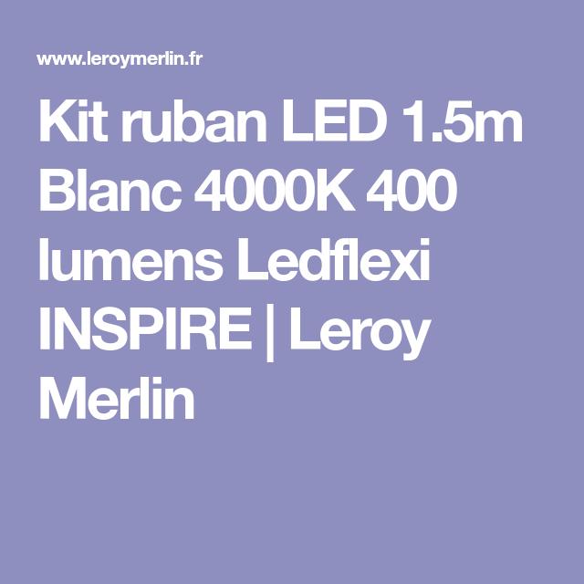 Kit Ruban Led 15m Blanc 4000k 400 Lumens Ledflexi Inspire