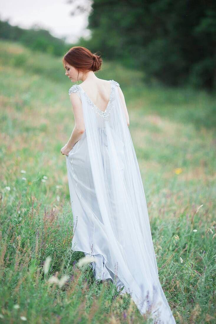 Bohemian Wedding Dress Jasmine By CarouselFashion On Etsy