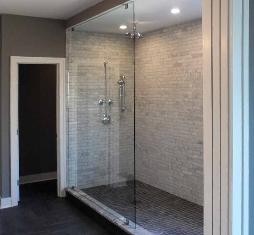 Image Result For Floor To Ceiling Glass Shower Panels