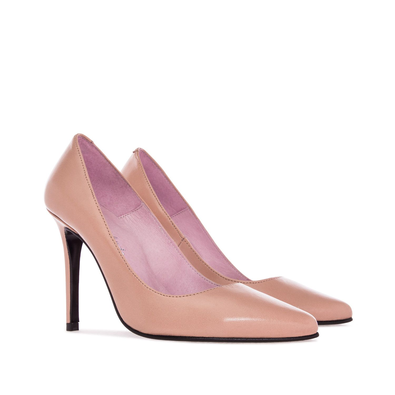 Zapatos de tacón alto negros con punta en punta de pedrería antideslizante en las bombas para las mujeres vHeyKx