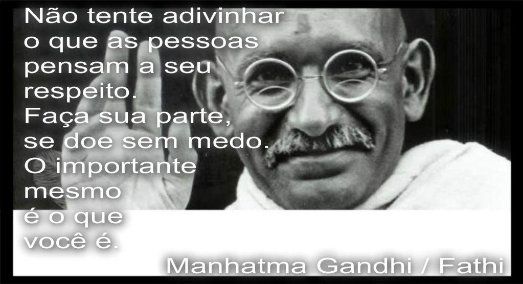 Mahatma Gandhi / Fathi