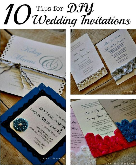Make Your Own Wedding Invites Ideas: Want To Design Your Own Invitations? Use The Tips To Help