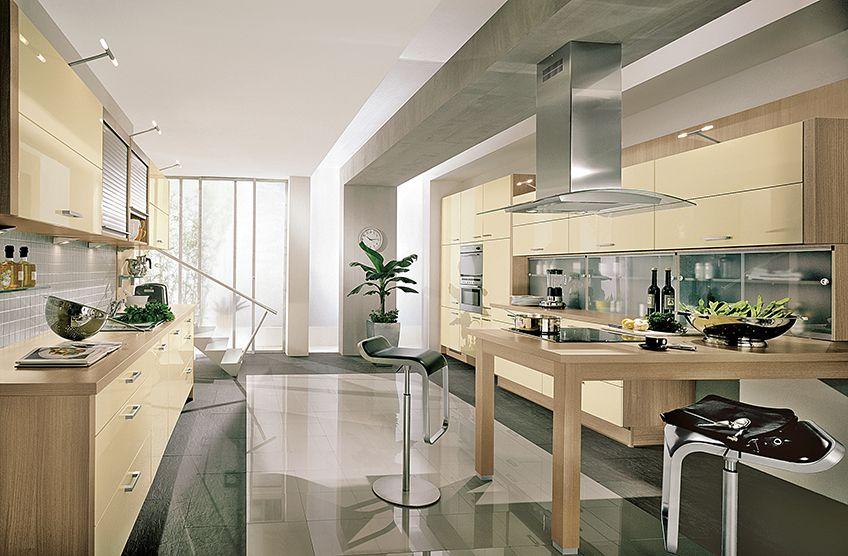 Prima Kitchen - Cream High Gloss front | Glossy kitchen ...