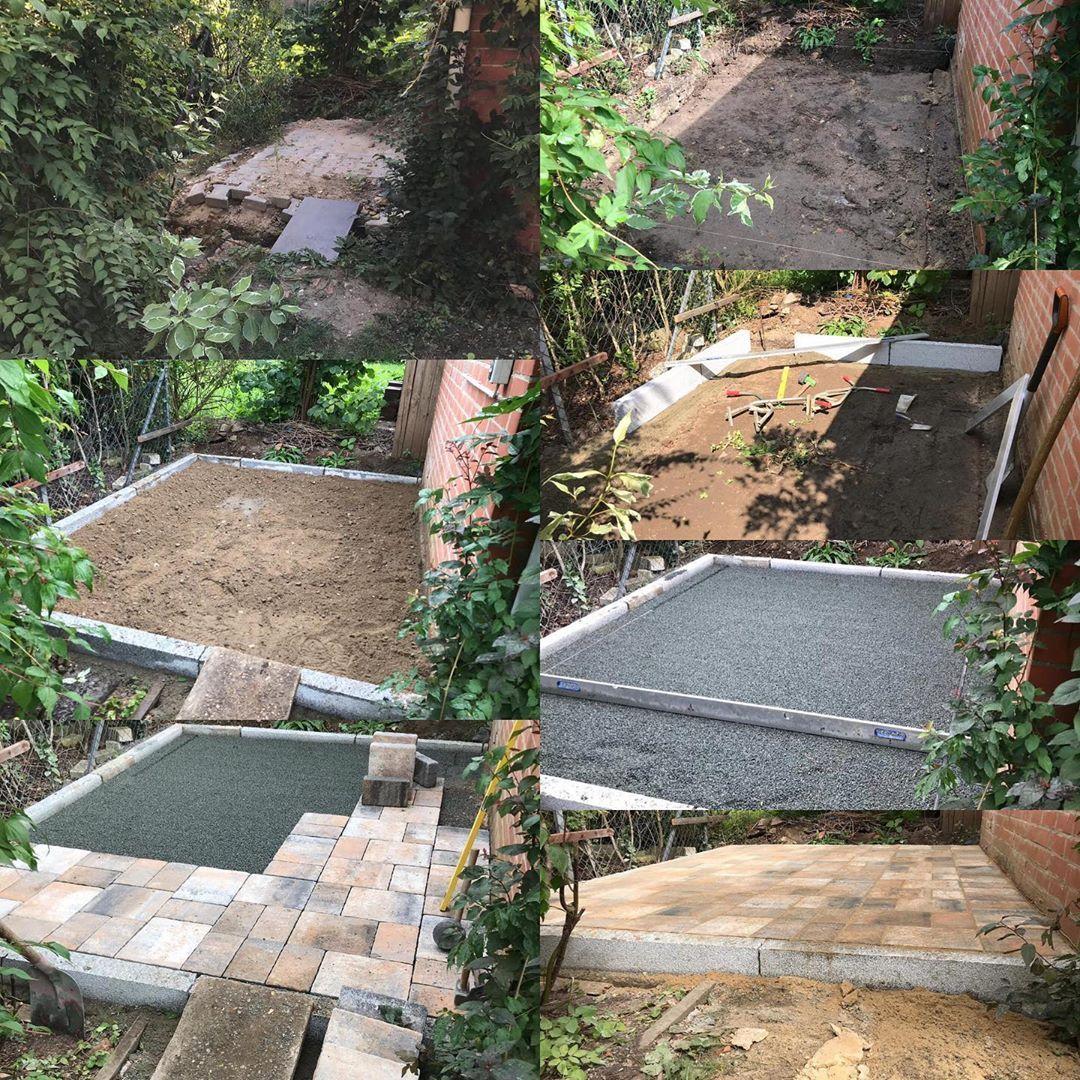 In Der Letzten Woche Haben Wir Eine Kleine Terrasse Gebaut Sieht Gut Aus Oder Terrasse Sommer Garte Terrasse Bauen Garten Landschaftsbau Gartengestaltung