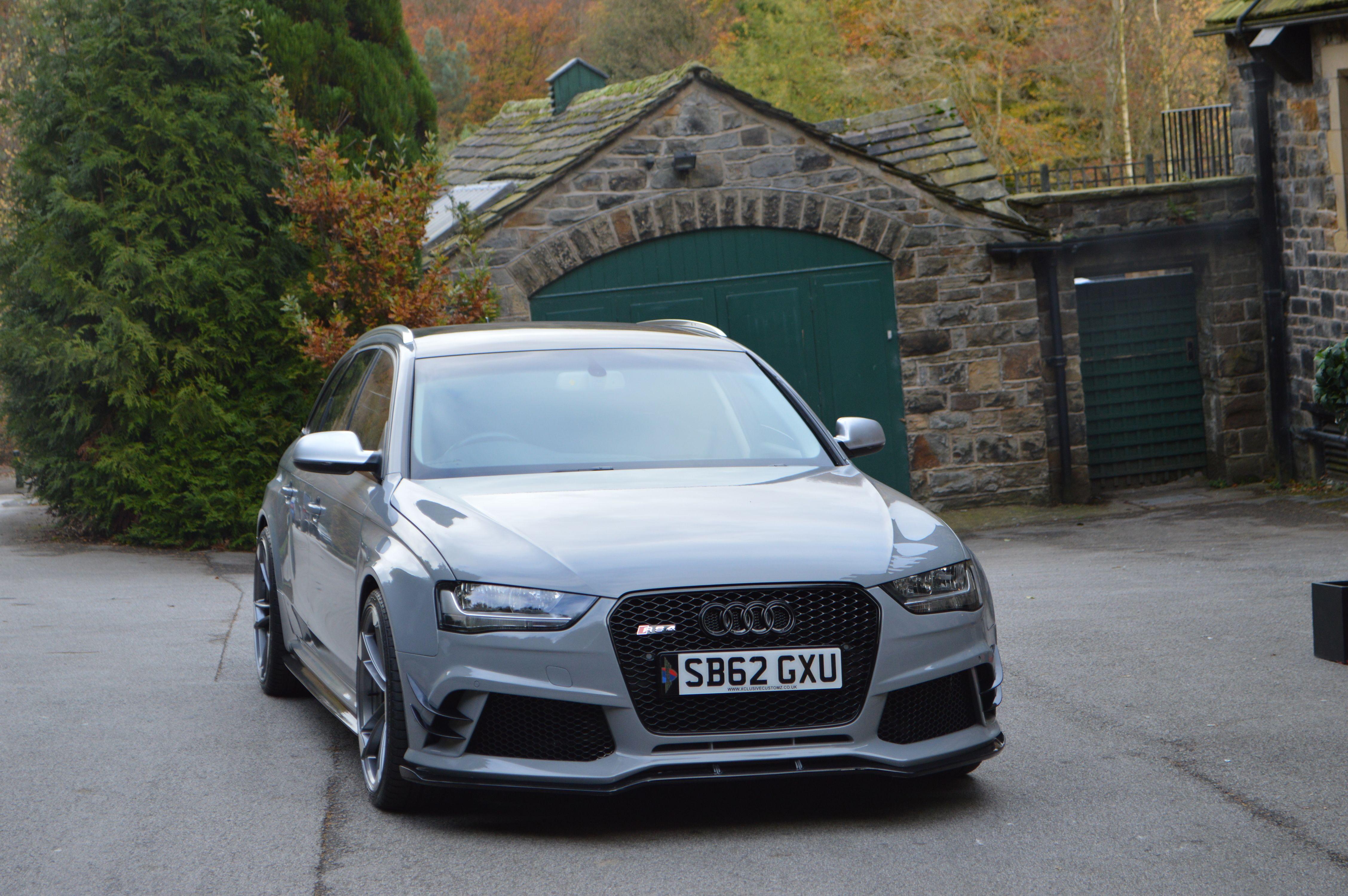 Audi rs4 b8 wide bodykit by xcluisve customz available now for sale scheduled via http www tailwindapp com utm_source pinterest utm_medium twpin