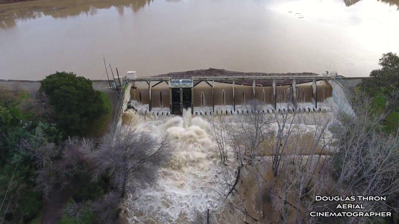Vasona Lake Park Flood California flood 2017 Los Gatos CA