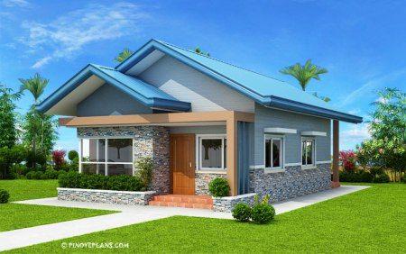 Best Three Bedroom Bungalow House Plan Shd 2017032 Modern 400 x 300