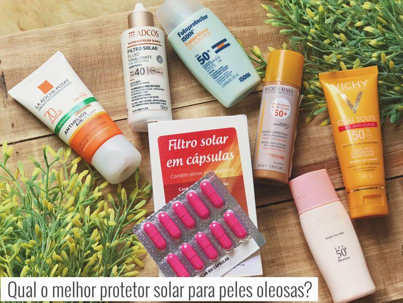 Melhor Protetor Solar Para Pele Oleosa Protetor Solar Com Cor