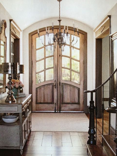 Front Doors Vignette Design Country French Magazine House