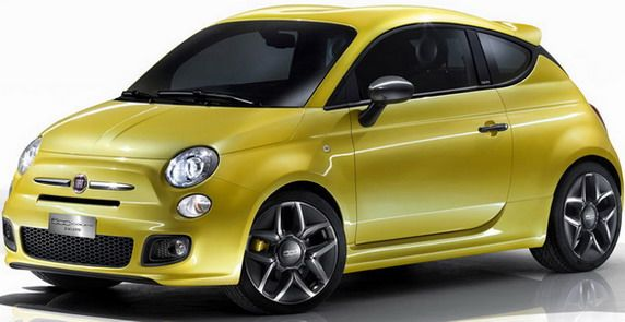 many have probably already forgotten about the fiat 500 coupe zagato which was premiered last march