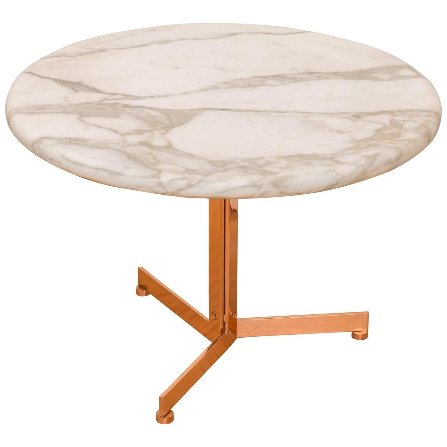 Stendig  Marble & Bronze Plated Table