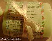 Set of 4 Handmade Bar Soap Bible Verse Wedding Gift Set Party Favor Soap Bridal Shower Soap